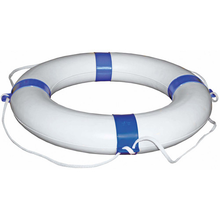 Lifebouy - White Blue Bands - bosunsboat