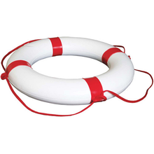 Lifebouy - White Red Bands - bosunsboat