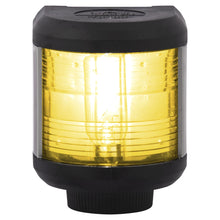 AQUA SIGNAL NAVIGATION LIGHT YELLOW STERN SIDE MOUNT 24 VOLT - bosunsboat