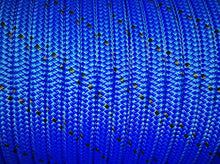 Rope - Spectra 10mm Blue with Black Fleck - Per/Meter - bosunsboat