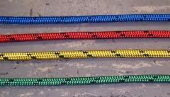 Rope - Spectra 10mm Green with Black Fleck - Per/Meter