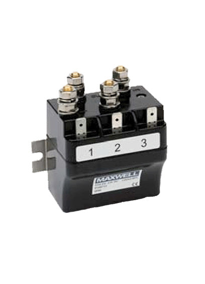 Maxwell PM Motor Reversing Solenoid Box: 12V (For; 500 series HRC,RC6 & RC8-6 )