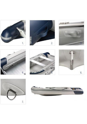VETUS PVC INFLATABLE DINGY 3.3M AIR DECK - bosunsboat