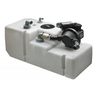 WASTE WATER TANK WITH PUMP SYSTEM 42 Litre 12/24Volt - bosunsboat