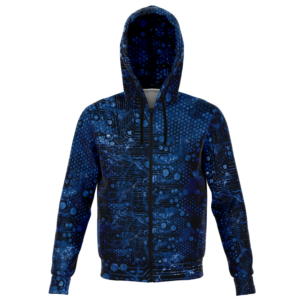 Digital Dimension Zip Hoodie