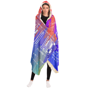 Static Void Colors Hoodie Blanket