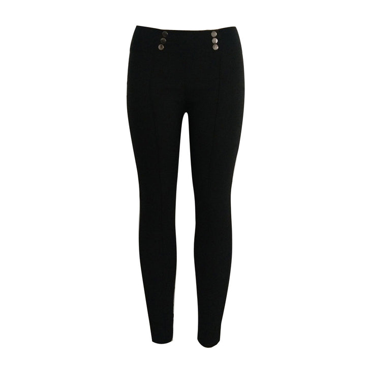 Women High Waist Skinny Stretch Pencil Pants Long Slim Trousers Leggings