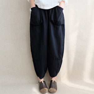 Women Oversize Harem Pants Loose Vintage Ethnic Plus Size Trousers Pants