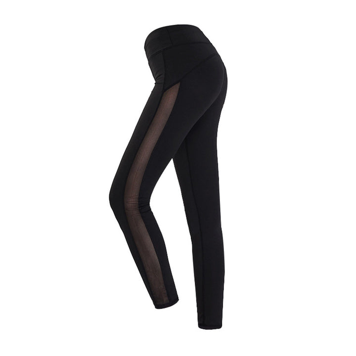 New Elastic Leggings Pants Trousers  (Black)