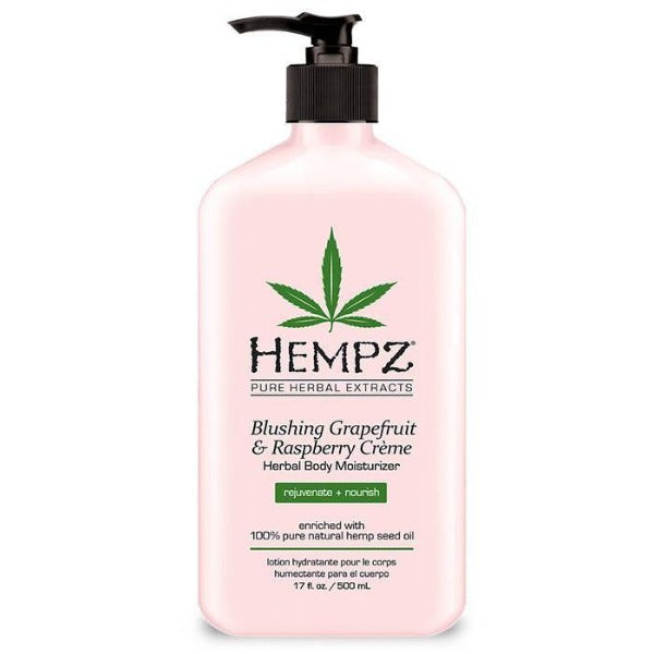 Hempz blushing grapefruit and raspberry crème