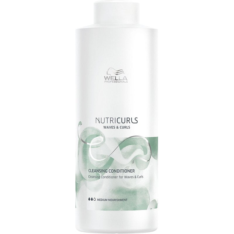wella nutricurls cleansing conditioner for waves and curls