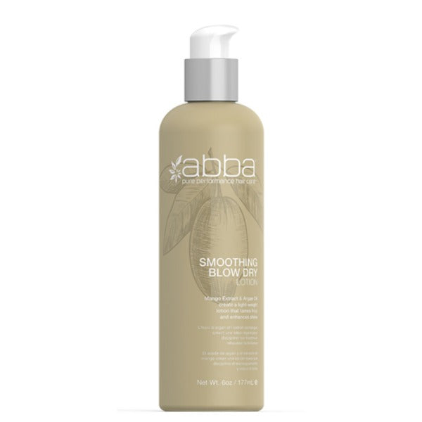 abba smoothing blow dry lotion 6oz