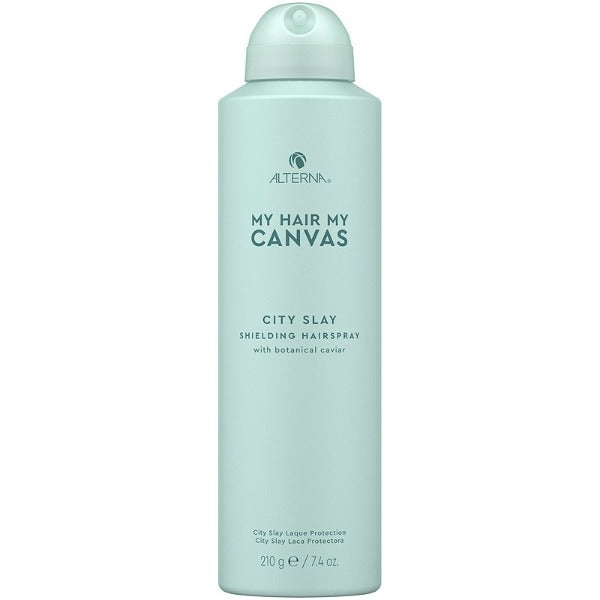 alterna MY HAIR. MY CANVAS.  CITY SLAY SHIELDING HAIRSPRAY 7.4oz