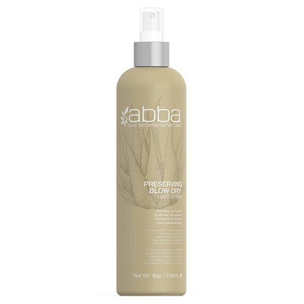 abba preserving blow dry 8oz