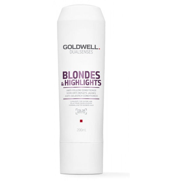 goldwell Dualsenses Blondes & Highlights Anti-Yellow Conditioner 6.76oz