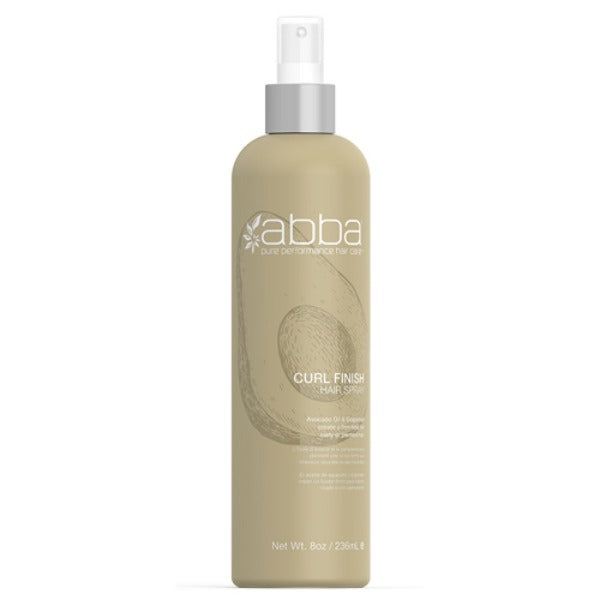 abba curl finish hair spray 8oz