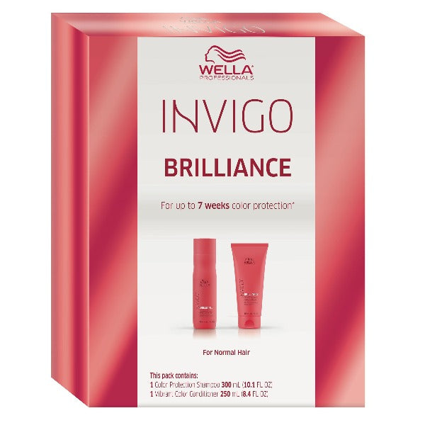 wella invigo brilliance holiday duo for normal hair