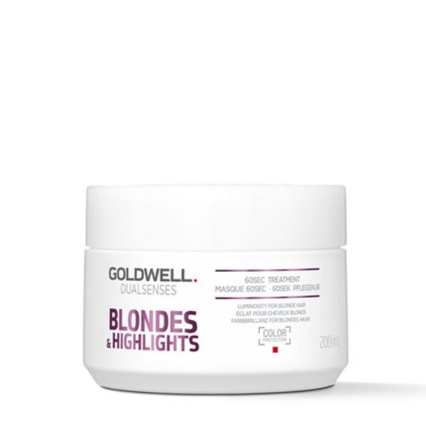 goldwell Dualsenses Blondes & Highlights 60sec Treatment 6.76oz