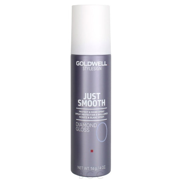 goldwell StyleSign Just Smooth Diamond Gloss Protect & Shine Spray 4oz
