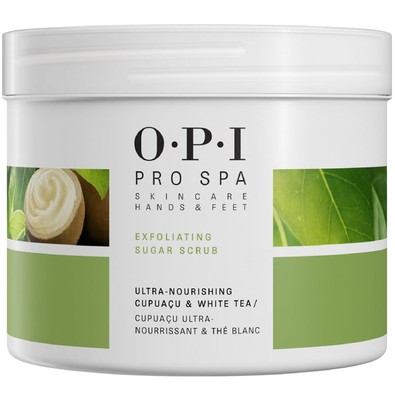 wella opi pro spa exfoliating sugar scrub