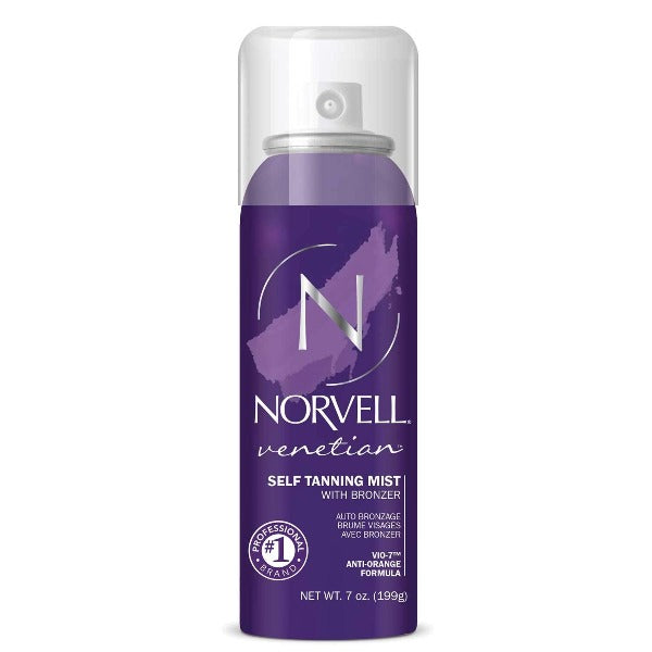 norvell venetian self tanning mist with bronzer 7oz