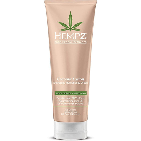hempz Coconut Fusion Energizing Body Wash 8.5oz