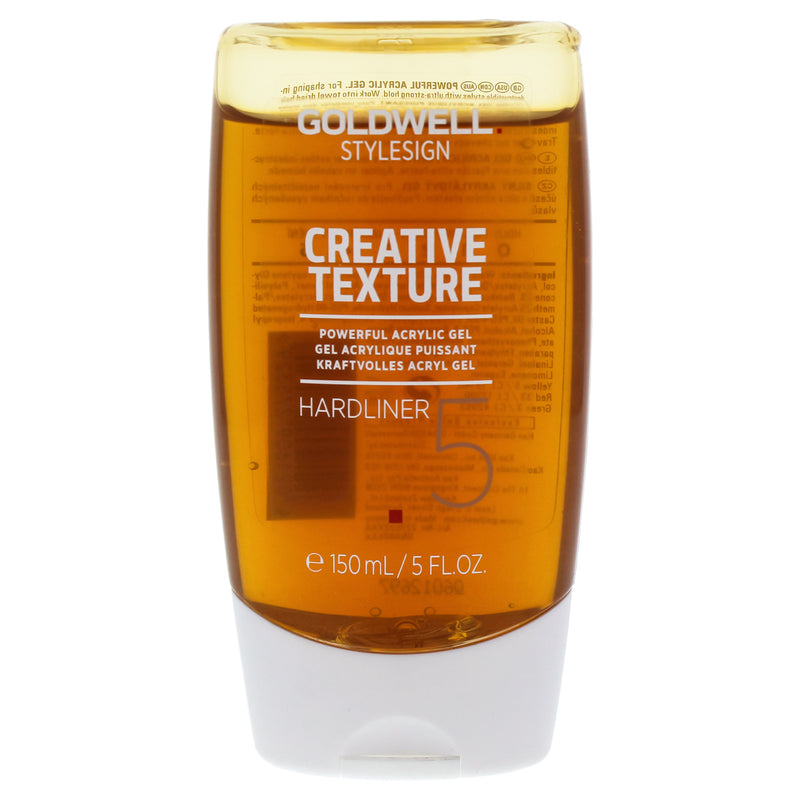 goldwell StyleSign Creative Texture Hardliner Powerful Acrylic Gel 5oz