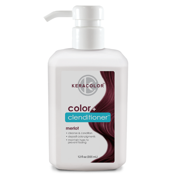 keracolor Color + Clenditioner Merlot 12oz
