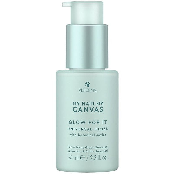 alterna MY HAIR. MY CANVAS.  GLOW FOR IT UNIVERSAL GLOSS 2.5oz