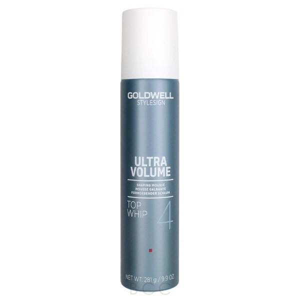goldwell StyleSign Ultra Volume Top Whip Shaping Mousse 9.9oz