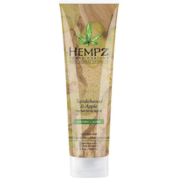 hempz sandalwood and apple herbal body scrub 8oz