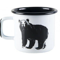 Nordic animals enamel mug