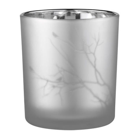 Branch glass tea light holder