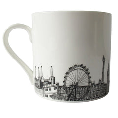 CV London Skyline Bone China Mug