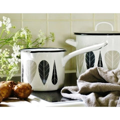 MLA Enamel Milk Jug - Leaves