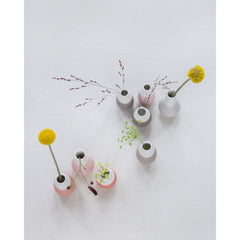 Mini curve vases - set of 4