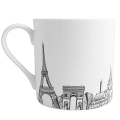 CV Paris Bone China Mug