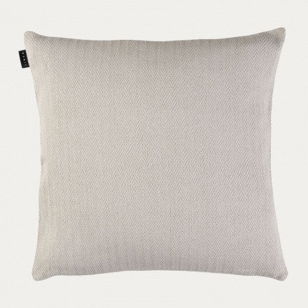 Zig Zag Cushion - Light Beige