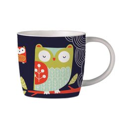 Owl Bone China Mug