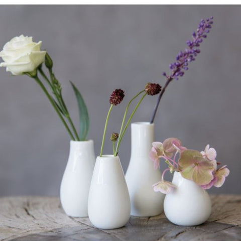 Mini vases - set of 4