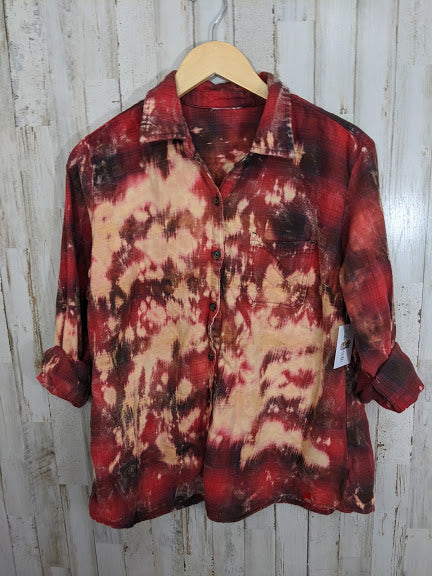 Distressed Flannel-SMALL