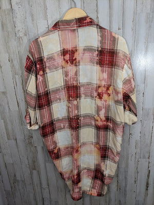 Distressed Flannel-2XL