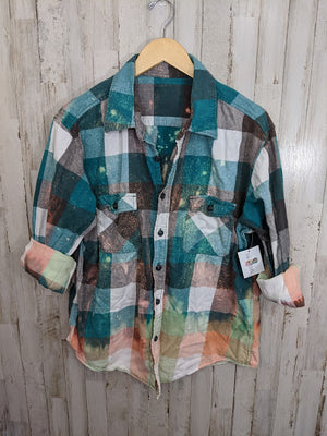 Distressed Flannel-LARGE