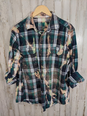 Distressed Flannel-LARGE/XL