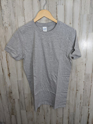 Blank Tee-COTTON/POLY BEND