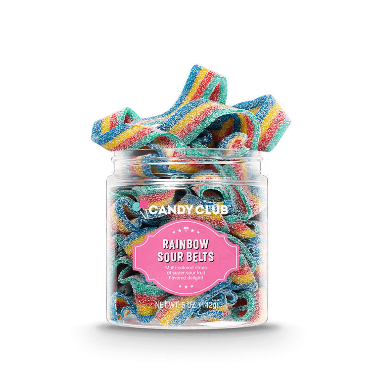 Rainbow Sour Belts- Large