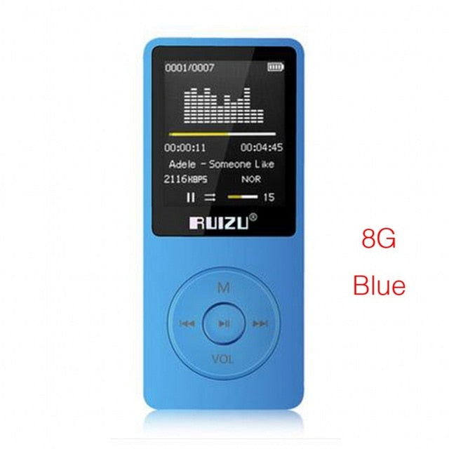 Ultradünner MP3 Player mit 8GB