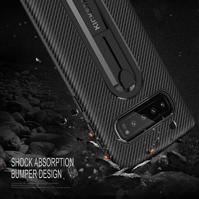Carbon Look Softcase für Samsung Galaxy S7 Edge S8 S9 S10  Note 9 8 A6 A7 A8