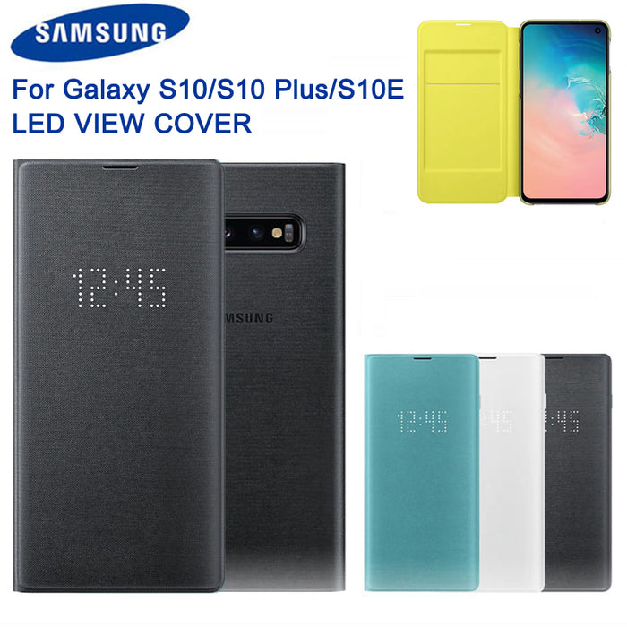 LED Cover für Samsung Galaxy S10 S10Plus S10E SM-G9730 SM-G9750