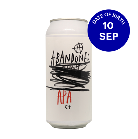[09|10] Abandoned APA 5.4% 4x440ml Cans